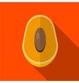 Mango flat icon vector image