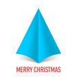 MERRY CHRISTMAS Corner paper 15 vector image