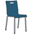 Blue chair vector image