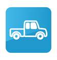 Pickup truck icon Farm vector image