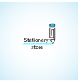 Stationery store vector image