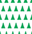 christmas tree seamless pattern2 vector image vector image