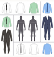 street fashion clothing 10 vector image vector image