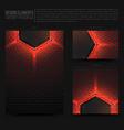 Design Elements Template vector image