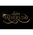 Happy fathers day wishes design background vector image