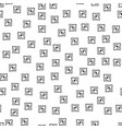 abstract doodle seamless pattern black and white vector image