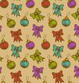 balls and ribbons vector image vector image