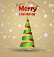 3D Christmas Tree 2013 vector image