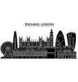 england london architecture city skyline vector image