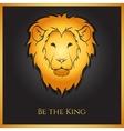 Golden Lion vector image