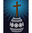 christian easter vector image