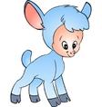 Little lamb vector image