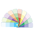 Swatches with tints vector image vector image