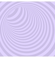 Violet Circle Striped Abstract Tunnel vector image