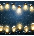 Luminous Electric Garland vector image