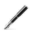 Ink pen isolated on white vector image vector image