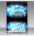 Party flyer vector image