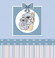 Koalas mother and son vector image vector image