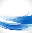 abstract elegant blue curve background vector image vector image