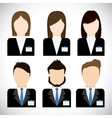 Businesspeople icon Business design vector image