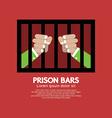 Prison Bars Graphic vector image