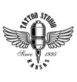 tattoo machine logo vector image