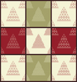 Christmas seamless patterns vector image vector image