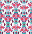 geometric colorful pattern art deco style vector image