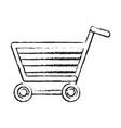 shopping cart icon image vector image