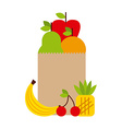 nutritional food design vector image