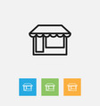 of business symbol on grocery vector image