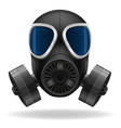 gas mask 01 vector image