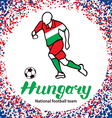 Hungary 3 vector image