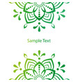 beautiful mandala stock vector image