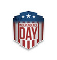 happy independence day gift card vector image
