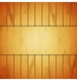 Background with wood texture vector image