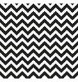 Chevron Zigzag monochrome vector image