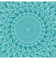 cyan round square green vector image