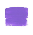 Lilac acrylic paint banner vector image
