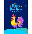 Merry Christmas and happy New Year memory card vector image