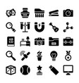 school and education icons 6 vector image