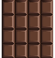 Chocolate bar seamless pattern vector image vector image