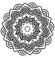 Mandala Hand drawn ethnic decorative element vector image