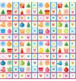 Christmas background wrapping paper vector image