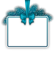 New Year elegant card with copy space for your vector image vector image
