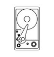 cd rom hardware vector image