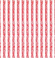Pastel crayon background with red and white vector image