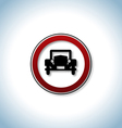 Traffic and auto icon vector image vector image