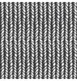 Decorative knit seamless pattern vector image