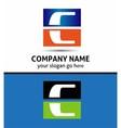 Letter C logo symbol vector image